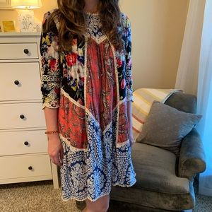 Boho Anthropologie dress